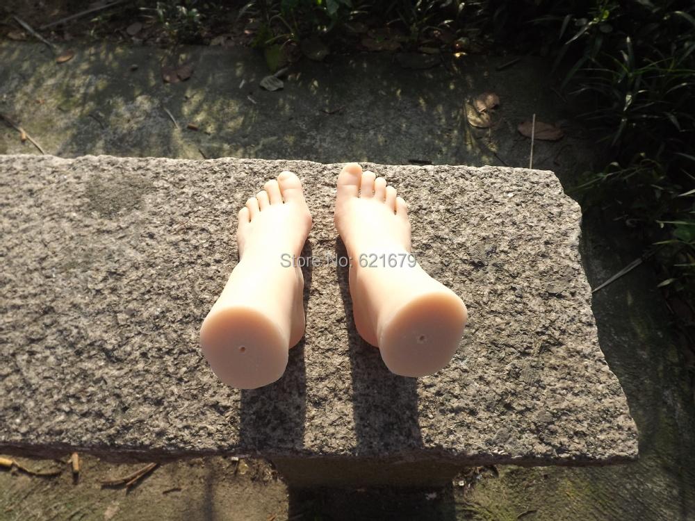 Lifelike Sex Doll Men New Arrival Foot Fetish Toys Real Pussy Clone Feet Fake Rubber Silica Gel Female Footwear Model Props