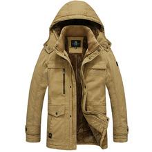 High Quality Winter Jacket Men Brand 2016 Warm Thicken Coat Famous Cotton-Padded Fashion Parkas Elegant Business Plus Size 815(China (Mainland))