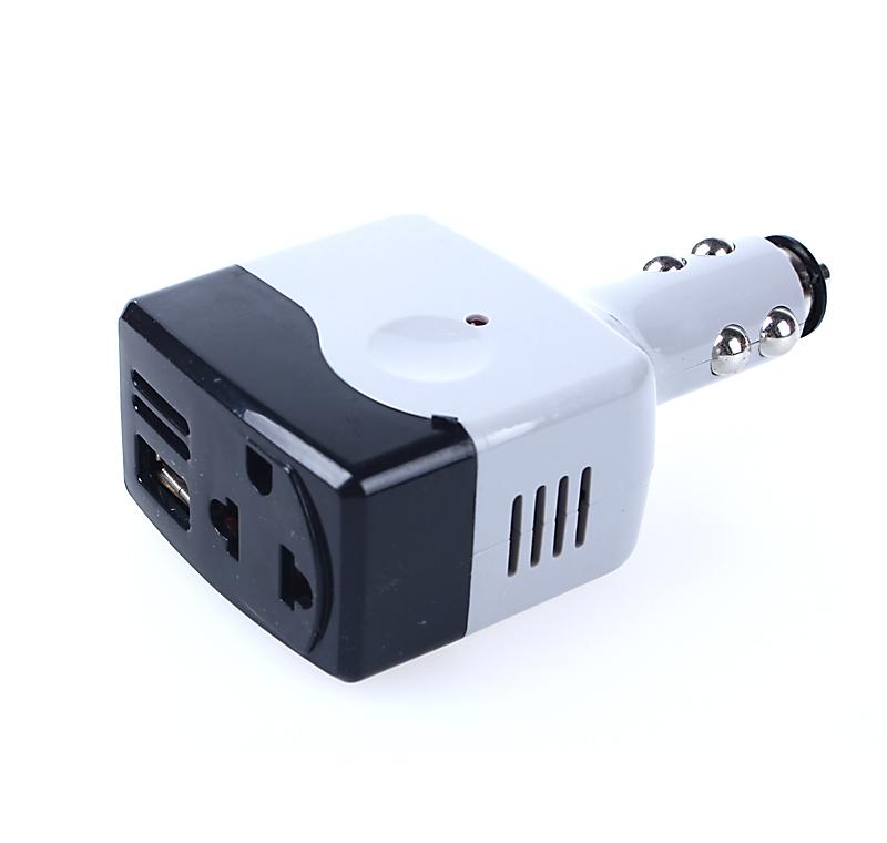 Car Cigarette Lighter Power Converter DC12V/24V AC 220V 5V USB Charger Inverter Adapter - Shenzhen Zerospace Technology Ltd. store