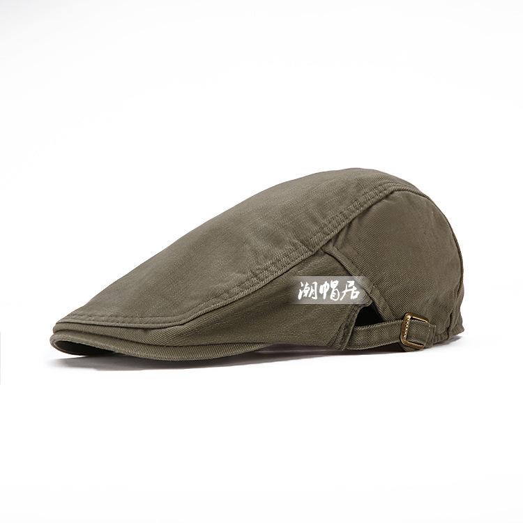2015 demin haute qualité béret pour mode femmes casquette de chasse à carreaux coton hommes béret refroidir boina casquette feutre béret(China (Mainland))
