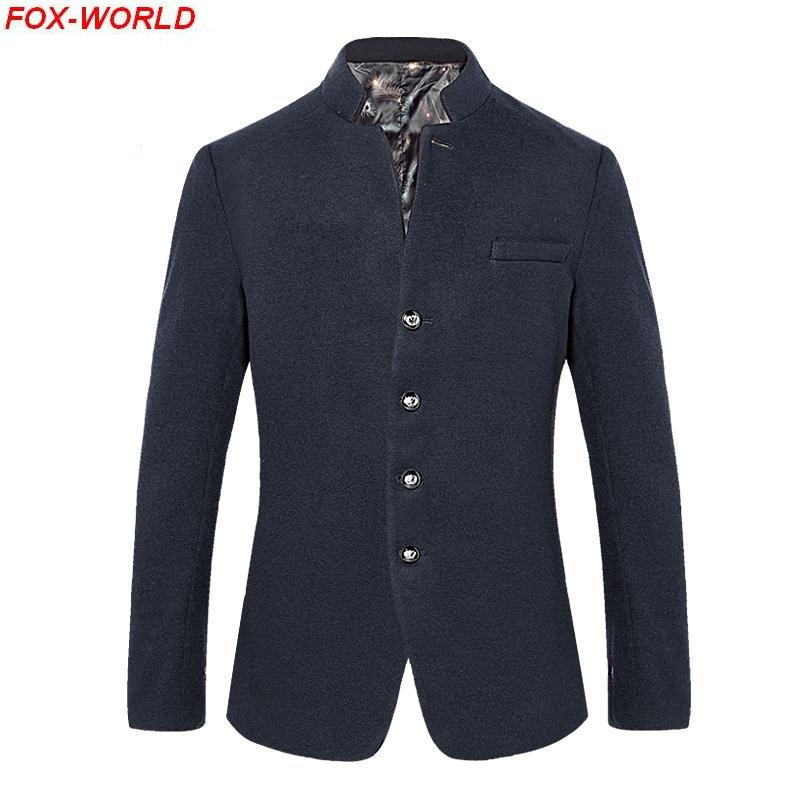 Free Shipping Mens blazer slim fit suit jacket navy orange 2015 spring autumn outwear coat Suits blazers men urban clothing(China (Mainland))