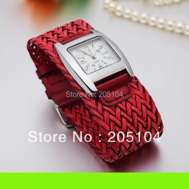 New Fashion Watch  Bracelet Watch Weaving Ribbon Women Casual Wristwatch Gift !Free shipping Drop Shipping<br><br>Aliexpress