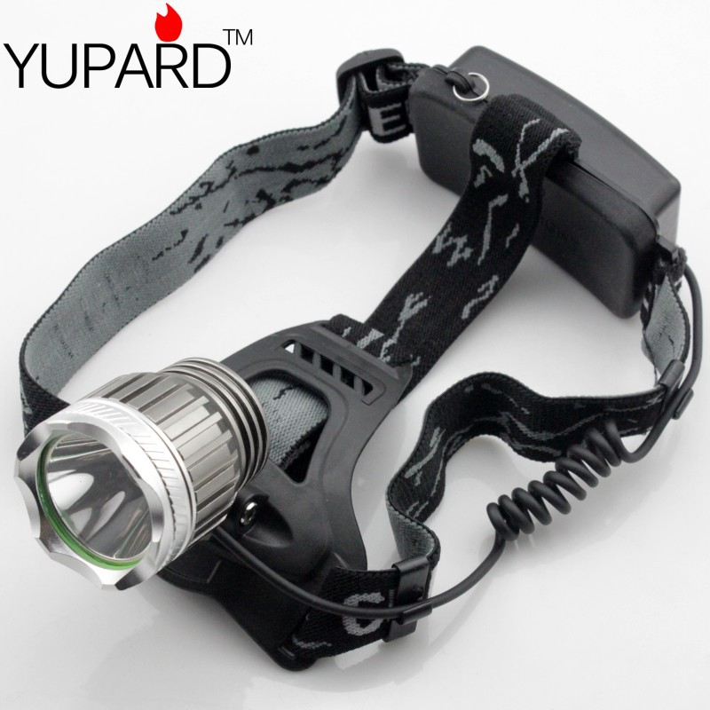 CREE XM-L XML T6 1800Lm LED Headlamp Rechargeable Headlight<br><br>Aliexpress