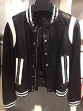 lady leather jacket women genuine leather garment(China (Mainland))