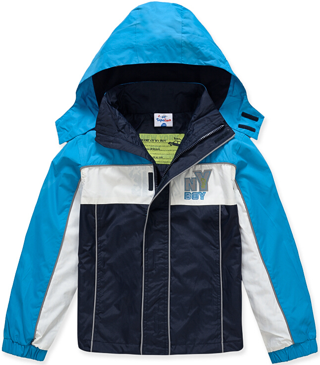 Brand Children Outerwear Coat Sporty Kids Clothes Double-deck Waterproof Windproof Boys Jackets For 3-8T(China (Mainland))