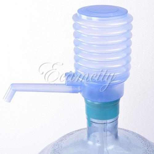 Bottled Drinking Water Hand Press Pump Dispenser Easy clear Home Indoor Outdoor Free Shipping(China (Mainland))