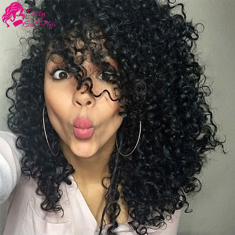 7a Peruvian Kinky Curly Virgin Hair Weave Kinky Curly Crochet Hair ...