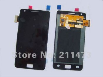 5pcs/lot.Free shipping.100% Original For Samsung Galaxy S2 i9100 Lcd screen with Touch digitizer assembly,Black and white