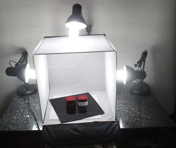 Adearstudio wholesale cd50 40cm lightbox photo light box photo tent without light blub(China (Mainland))