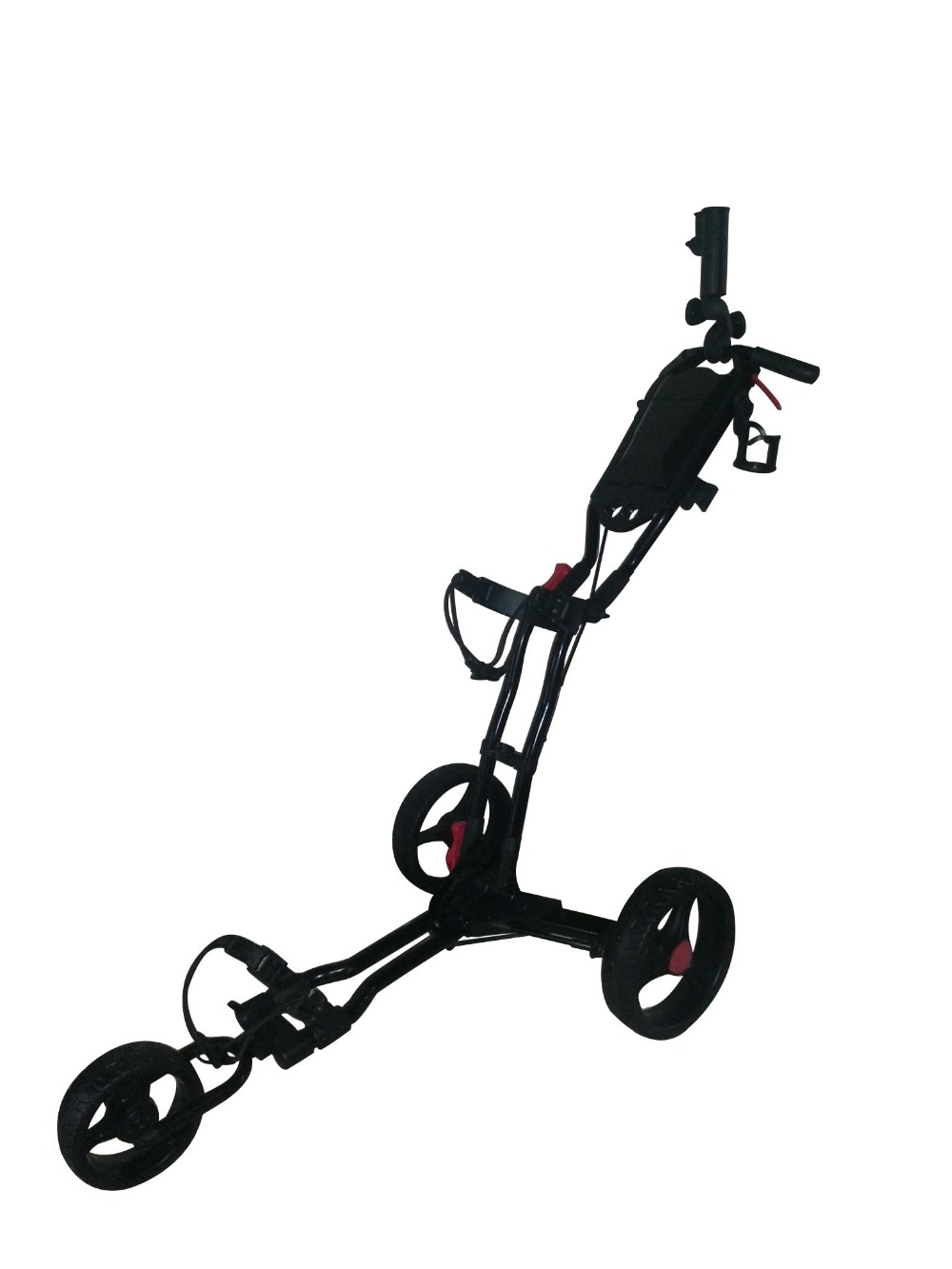 Three Wheel Push Golf Cart for Free UK Delivery(China (Mainland))