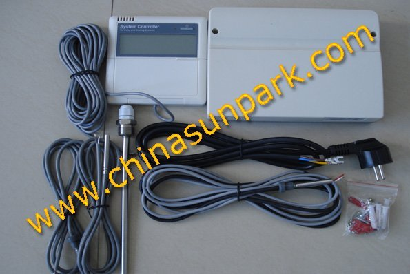 6pcs+Free shipping+Split water heating  solar collector controller