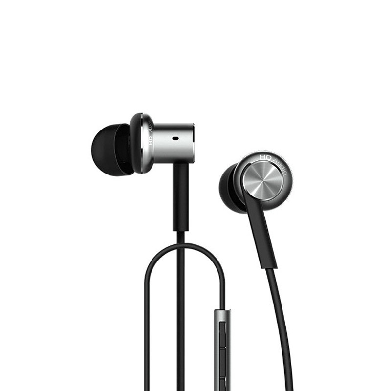 Original Xiaomi Mi IV Hybrid Earphones Wired Control Headphone with MIC for Android iOS for cell phone For MI4 MI3 Redmi- Silver<br><br>Aliexpress