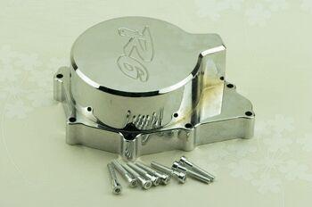 Хром метал заготовка двигателя двигателя статора крышки картера выгравировано для Yamaha YZF R6 YZF-R6 1999 - 2002