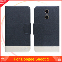 Buy 5 Colors Factory Direct!! Doogee Shoot 1 Case Flip Ultra-thin Fashion Leather Stand Function Protective Phone Cover for $3.90 in AliExpress store