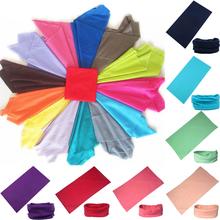 2015 Outdoor Sports Multi Purpose Solid Colors Neck Tube Warmer Scarf Bandana Head Face Mask Gaiter Snood Headwear Beanie Caps
