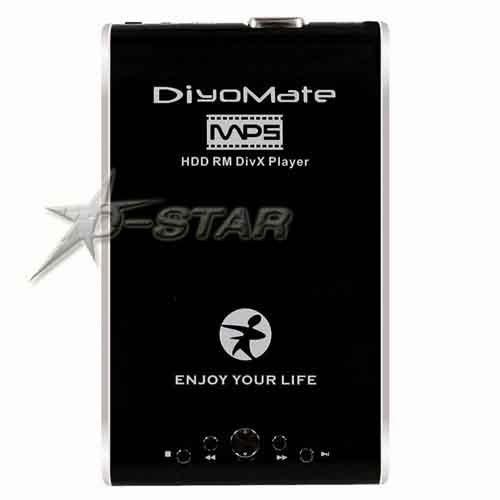 Free Shipping (via DHL) 2.5 SATA HDD HDMI Media Player HP-3125 Support RMVB RM(China (Mainland))