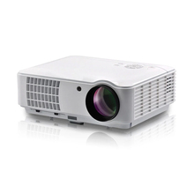 Rigal RD-804 Full HD 1080p Business & Education,Home LED Theater Projector come with HDMI TV VGA AV Function