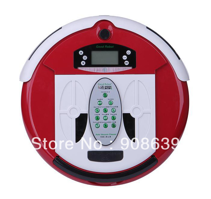 Free Shipping 4 In 1 Newest Multifunctional Wet&Dry Moping Robot Vacuum Cleaner+Remote control+0.7L Rubblish Box+Dirt detection(China (Mainland))
