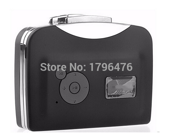 New Portable ezcap USB Tape Player Cassette to MP3 Converter USB Flash Driver converter Player For Capture Recorder(China (Mainland))