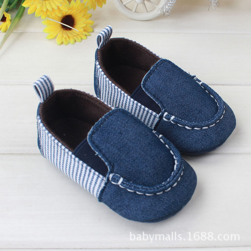 fashion baby toddler shoes non slip first walkers infant moccasins baby sneakers European&American style stripe casual baby shoe(China (Mainland))