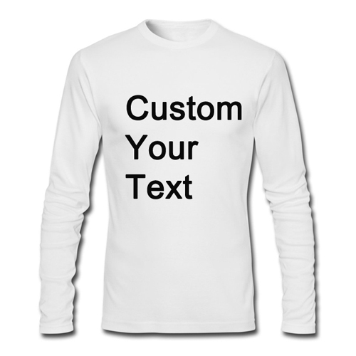 Good quality  Mens Long Sleeve T-shirts casual O-neck pollover  100% Cotton  Plus Size Tops creative  printing  custom  shirtОдежда и ак�е��уары<br><br><br>Aliexpress