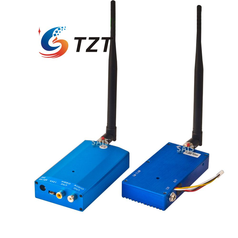 1.3G 5W 4CH Wireless Audio Video AV Transmitter Receiver Transceiver Telemetry Set(China (Mainland))