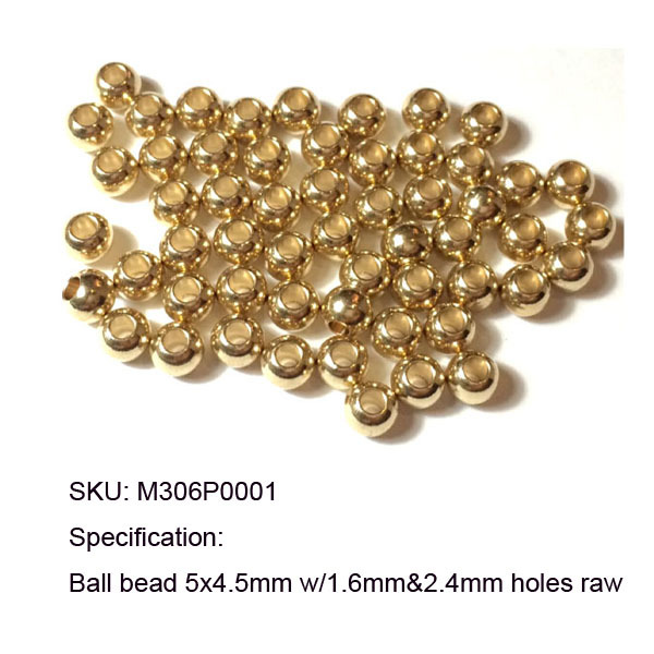 5000pcs Jewelry Design Repair Solid Brass Round Spacers Beads 6x4.9mm w/ 3mm large  inner Hole<br><br>Aliexpress