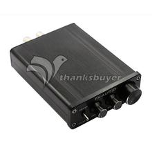 Buy Feixiang FX502E TL082 TDA7498L Hifi Digital Amplifier 68W * 2 Digital Amp LM1036 Preamp for $52.88 in AliExpress store