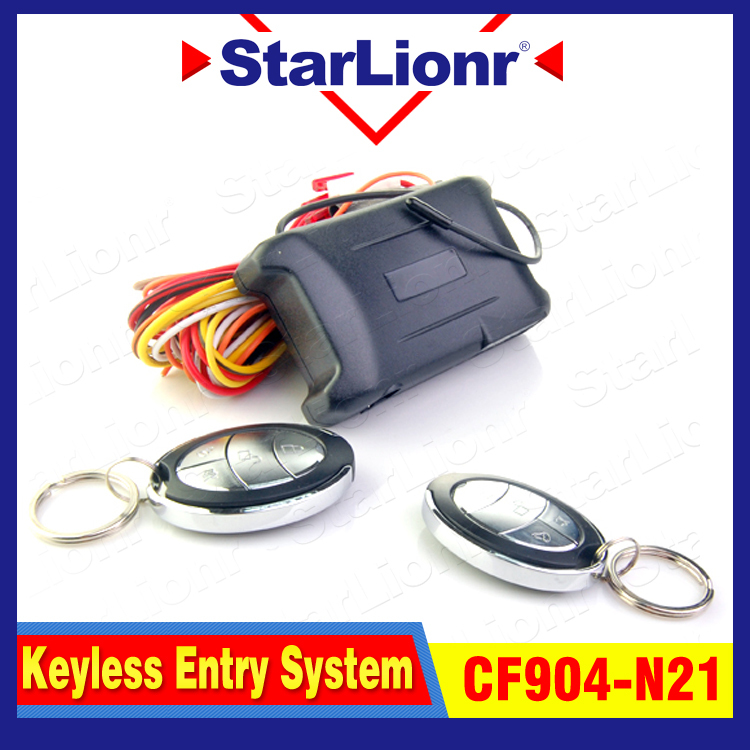 Keyless entry system Car Remote Central Lock with nice Controllers CF904-N21 Trunk open function Car alarm system(China (Mainland))