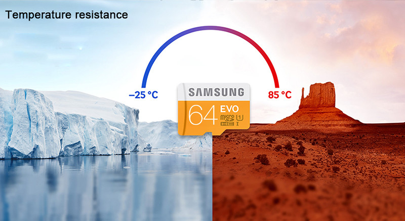 Samsung EVO Memory SD Card 64GB Class 10 Max 48mb/s Micro TF Card SDXC Flash Support Official Verification D12-L-04