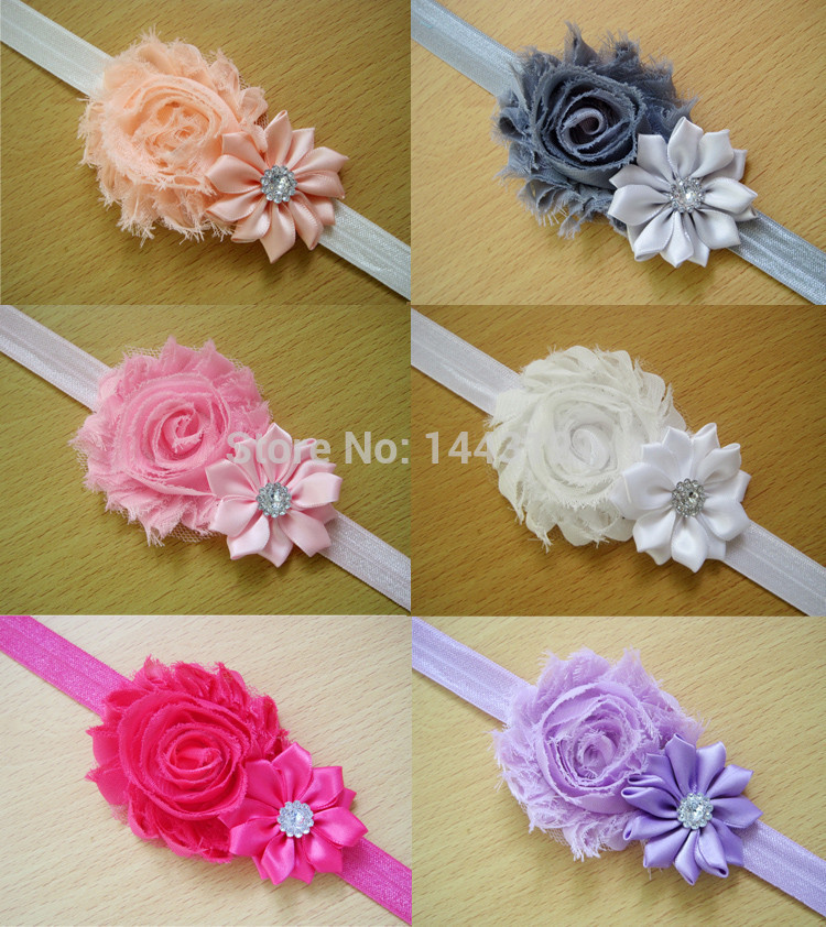 TS146 new listing accessories new cute headdress princess rose, baby, toddler pointed headgear flower hair band baby headband(China (Mainland))