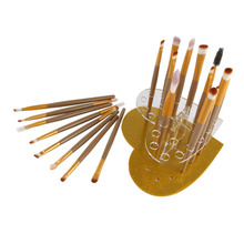 Buy 20 Grids Heart-shaped Makeup Brush Display Stand Holder Drying Rack Cosmetic Brushes Showing Rack Drying Display Stand Storage for $5.05 in AliExpress store