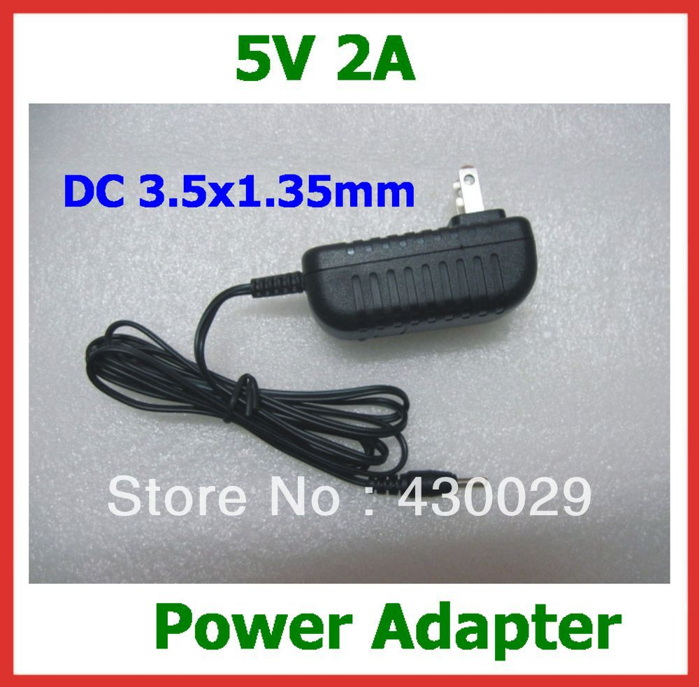 Power Adapter 5V 2A 3.5mm Charger for Ainol Novo 7 Aurora II / ELF II / Flame Fire / Crystal Quad Core/Tornado Free Shipping<br><br>Aliexpress