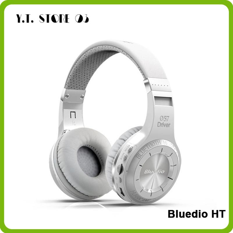 Original Bludio Bluedio HT Powerful Bass Stereo Bluetooth V4.1 Wireless Headphone Bulit-in Microphone Noise Isolating Headset(China (Mainland))