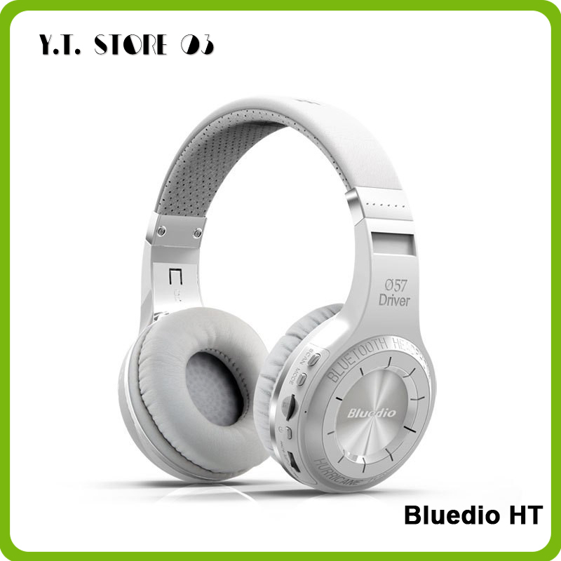 Original Bludio Bluedio HT Powerful Bass Stereo Bluetooth V4.1 Wireless Headphone Bulit-in Microphone Noise Isolating Headset(China (Mainland))