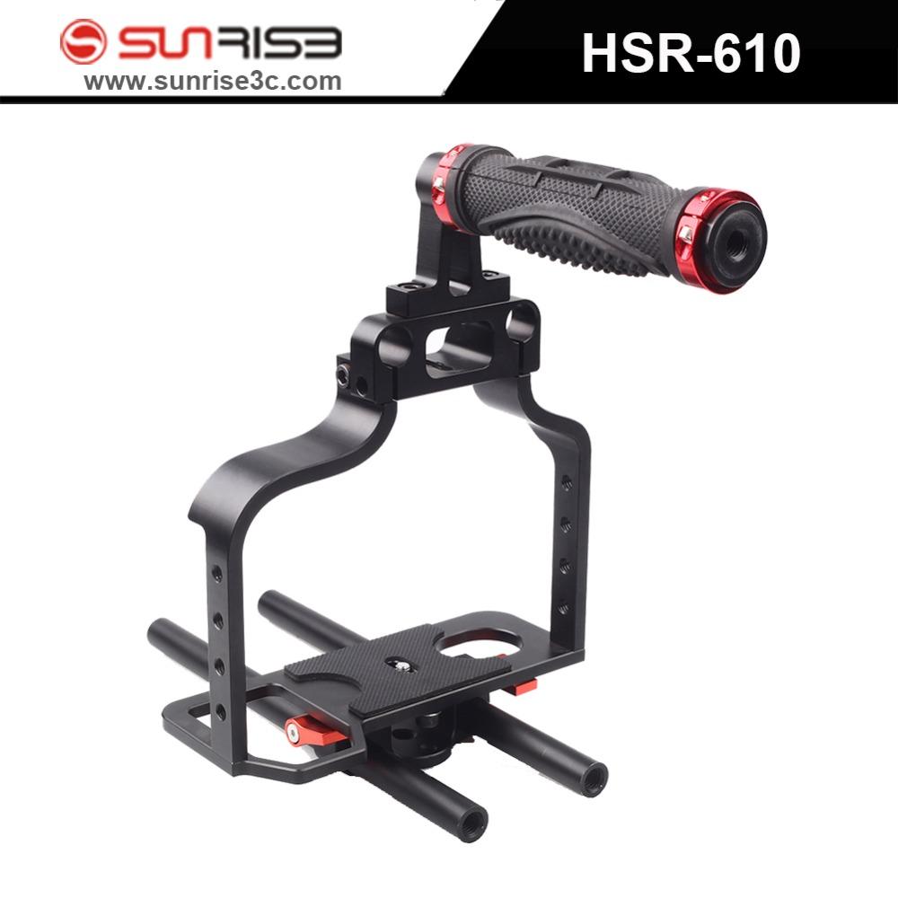 Sunrise video 7D 5D2 camera slr dslr rig movie kit set cage handle 5DII stabilizer steadicam steadycam filmmaking