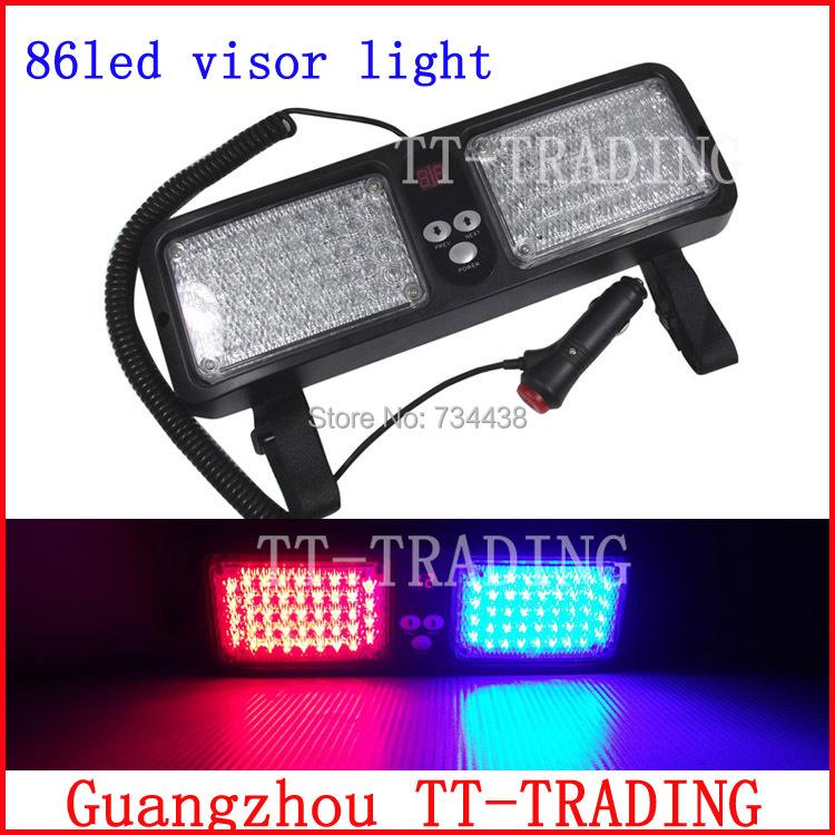 visor strobe lights vehicle emergency lights police light. Black Bedroom Furniture Sets. Home Design Ideas