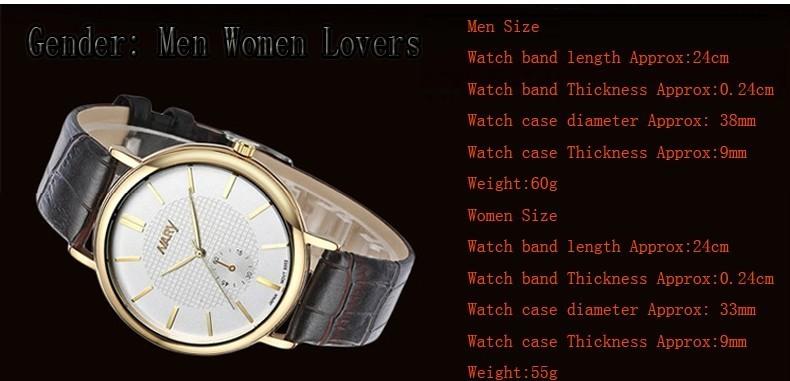 Высокое Качество Модный Бренд Кожаный Ремешок Кварцевые Часы Женщины И Мужчины Часы Память Любители Подарков Бесплатная Доставка