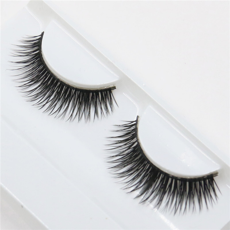 Гаджет  1 pair thick false eyelashes naturally slender fashion of beauty Eyelash None Красота и здоровье
