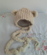Newborn Photo Prop Handmade Soft Knit Newborn Hat