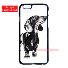 Dackel Dachshund Cover Case for LG iPod 4 5 6 Samsung Note 2 3 4 5 S2 S3 S4 S5 Mini S6 S7 Edge Plus iPhone 4S 5S 5C 6 6S 7 Plus(China (Mainland))