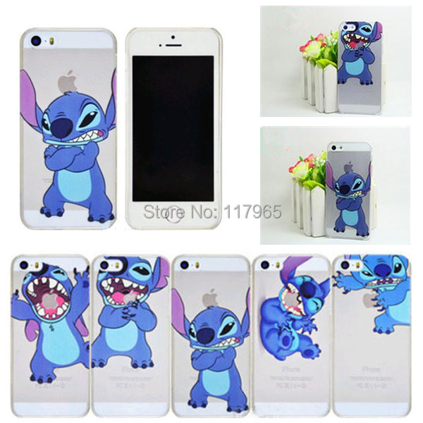 Min.order is$10(mix order)Free shipping funnyCute Cartoon Transparent Cover case for apple iphone 4 4S 5 5S 5C EC271/EC313/EC314(China (Mainland))
