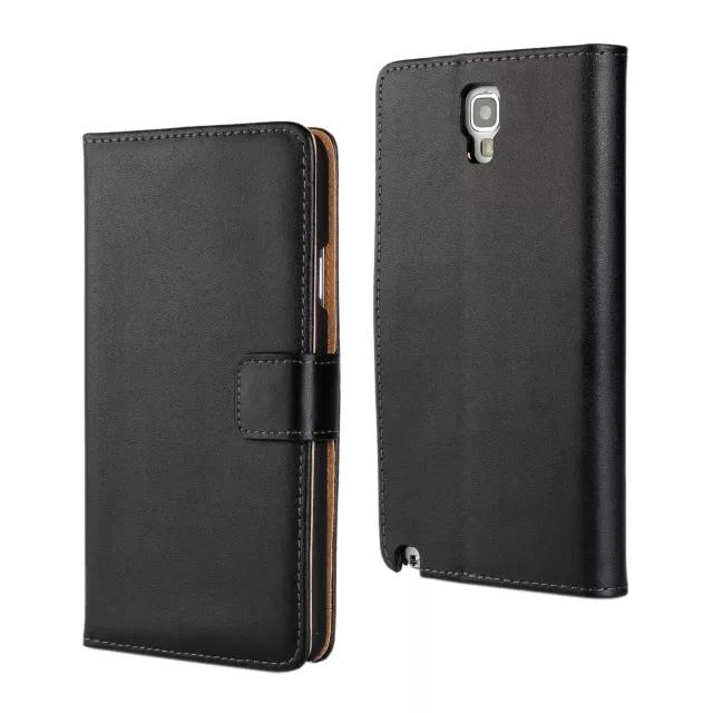 Genuine Leather Case Samsung Galaxy Note 3 Lite / Neo luxury wallet leather flip cover - ShenZhen JieJia Electronics Co.,Ltd store