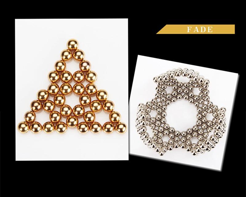 216pcs 5mm Multi-colored Neodymium Magnetic Balls Spheres Beads Magic Dice Magnets Puzzle Block Dice Magico Birthday Current