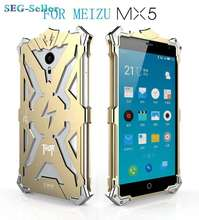 Luxury Meizu MX5 Case Back Cover Aluminum Phone Bag Cases for Meizu MX5 SJ1983