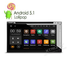 """XTRONS 6.95"""" 2 din Android 5.1 car DVD player HD Touch Screen 1080P Video GPS Navigation Stereo audio Screen Mirroring & OBD2(China (Mainland))"""