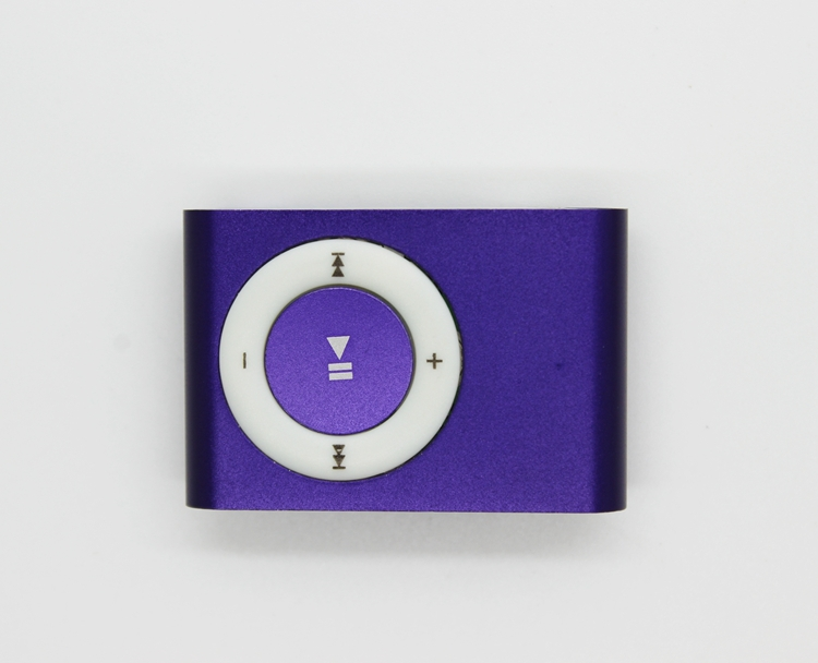 High quality mini metal clip MP3 Player with tf card slot without accessories not the lowest