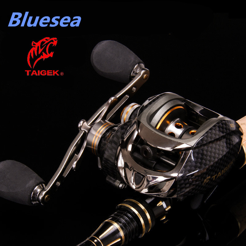 Bluesea HOT SALE Fishing Bait casting Wheel Water Drop reel 18+1BB 6.3:1 Metal magnetic brake 2 Control Systems Right Left Hand(China (Mainland))