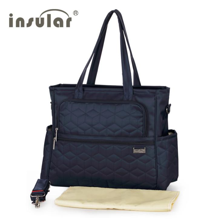New Style Shipping Free 100% Nylon Fashion Baby Diaper Bags Nappy Bags Mommy Bag Multifunctional Changing Bags(China (Mainland))