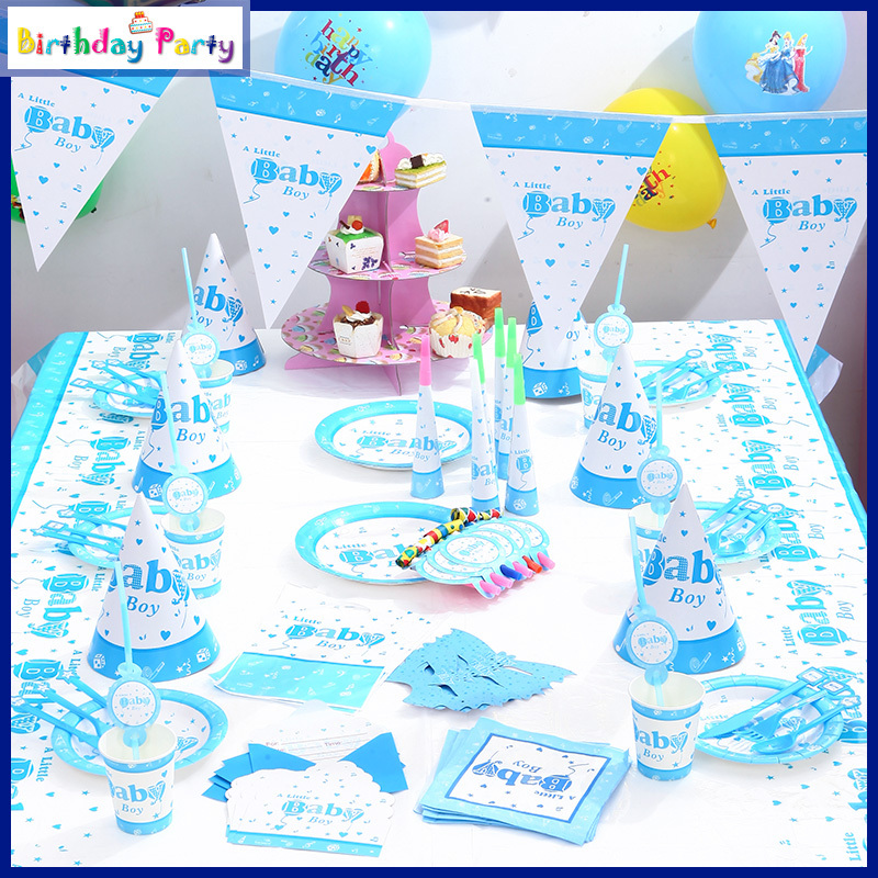 2015 New Well Selling Theme Kids Event Party Supplies Children Favor Items Baby Boy Birthday Party Decorations(China (Mainland))
